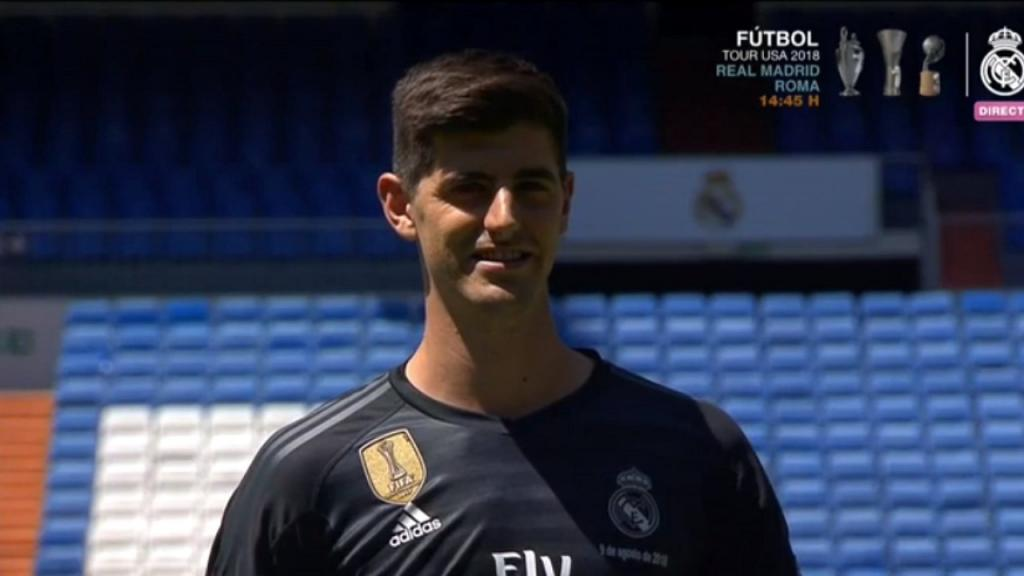 Maillot Extérieur Real Madrid Courtois