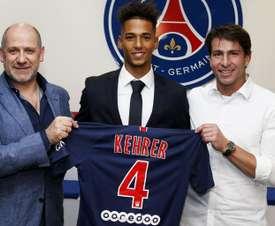 Thilo Kehrer, nuevo jugador del PSG. PSG