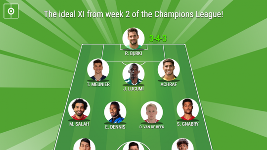 This is the ideal X1 for week 2 of the Champions League! BeSoccer