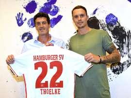 Thoelke se convierte en el último fichaje del conjunto alemán esta temporada. HSV