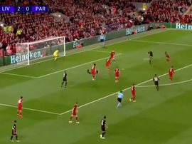 Meunier drilled home to give PSG hope. Screenshot