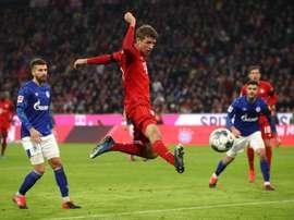 O Bayern trabalha na renovação de Müller. Twitter/FCBayern