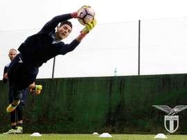 La Lazio no quiere dejar escapar a su portero. Lazio