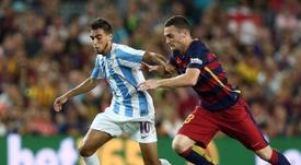 Ricardo Horta jugó en Málaga durante dos temporadas. Twitter/MalagaCF