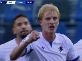 La Sampdoria écrase l'Atalanta à l'extérieur. Moviestar