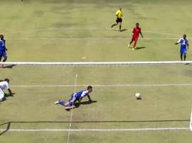 Thosago Nkopodi will never forget his crazy miss. BeSoccer