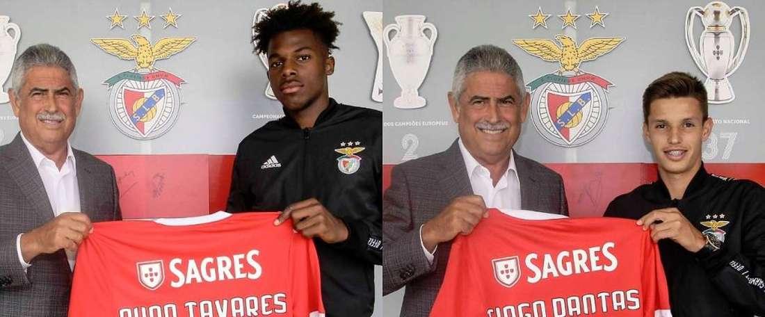 Benfica parie sur la jeunesse. Twitter/SLBenfica