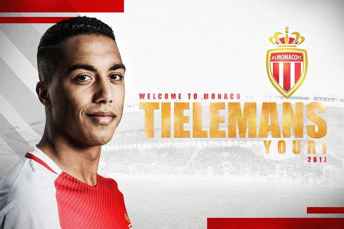 Camiseta AS Monaco Youri TIELEMANS