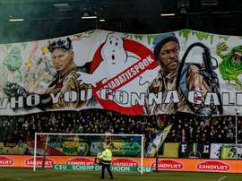 They dedicated a tifo to them. Twitter/ADODenHaag