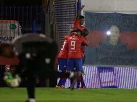 Tigre celebra la victoria ante Sarmiento. AFA