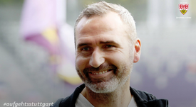 Tim Walter dirigirá al conjunto alemán. Twitter/VfB