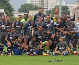 O Vasco pode celebrar a chegada aos 'play-off's na próxima semana. Paulo Fernandes/Vasco.com.br
