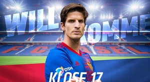 Timm Klose, loaned with an option to buy. Twitter/FCBasel1893