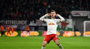 As dúvidas do Liverpool sobre Werner. Twitter/DieRotenBullen