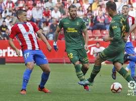 Las Palmas no pudo meterle mano al Sporting. LaLiga