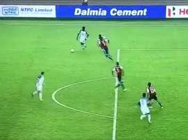 Weah marcó un 'hat trick' ante Paraguay Sub 17. Twitter/RobertTestas