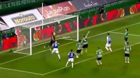 El Oporto cayó en la tanda de penalti. Captura/Youtube