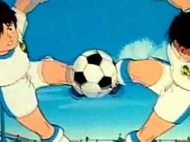 Abel Hernández y Diomande marcaron un gol de dibujos animados. SuperCampeones