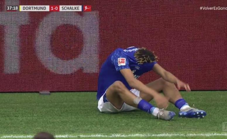 Les huit blessés de la reprise de la Bundesliga. Capture/Vamos