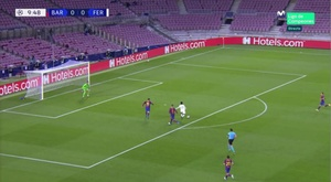 Tokmac Nguen scored a great goal but was offside. Screenshot/MovistarLigadeCampeones
