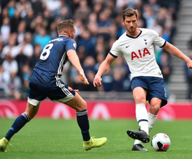 Vertonghen will not be back for at least another two weeks. Twitter/SpursOfficial