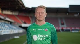 Glover will return to England in July. HelsingborgsIF