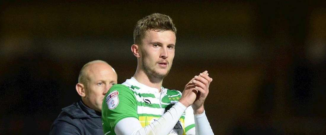 James will remain at Huish Park for the foreseeable future. Twitter/YeovilTown FC