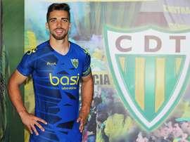 Aos 24 anos, Tomané vai manter-se na primeira liga. Twitter/Tondela