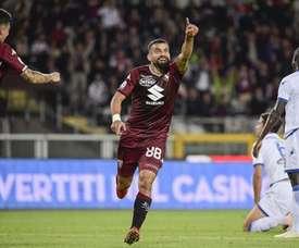 Rincón abrió la lata para el Torino. EFE
