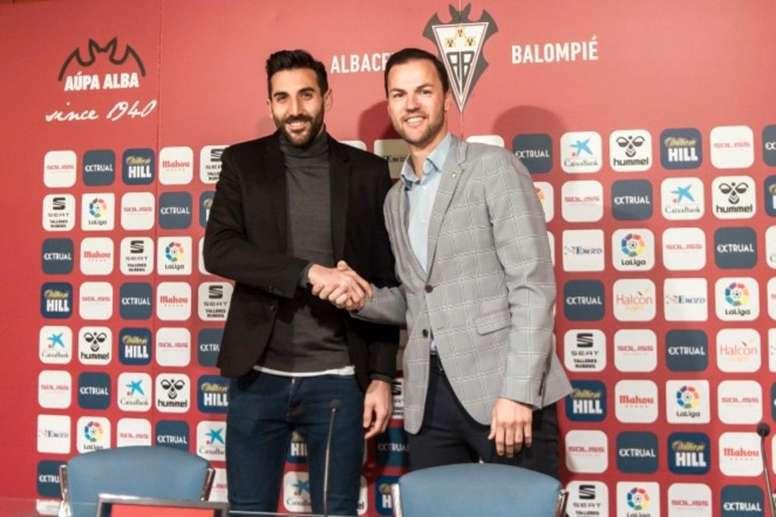 Tomeu, hasta 2022. Twitter/AlbaceteBPSAD