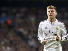 Kroos creates magic from outside the area. AFP