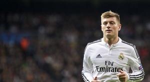 Kroos prolonge son contrat. AFP