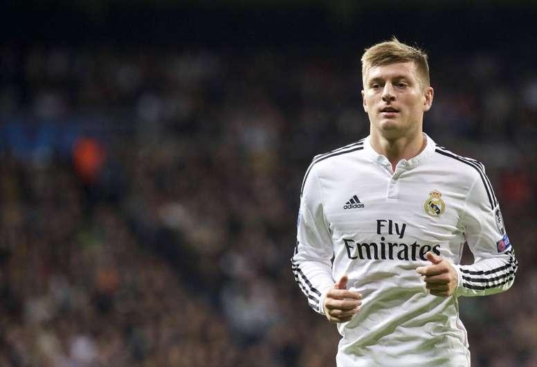 Manchester offrira 58 millions d'euros pour Kroos. AFP