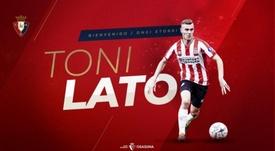 Lato vuelve a España. Osasuna