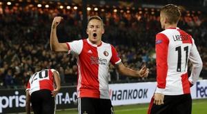 Feyenoord s'est montré plus précis que Porto. Twitter/Feyenoord