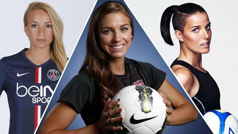 Top 10 Most Beautiful Women Footballers Besoccer Folge women's championship 2020/2021 livescores, endergebnissen, auslosungen und tabellen auf dieser seite! top 10 most beautiful women footballers
