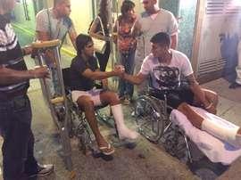 Toranzo y Mendoza recibieron el alta hospitalaria la pasada semana. Twitter