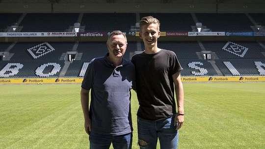 Müsel comenzará con el Sub 23. Borussia