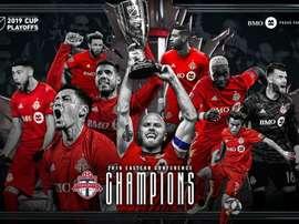 Toronto, campeón de la Conferencia Este. Twitter/MLS