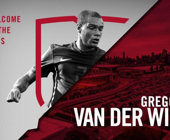 Toronto sign Van der Wiel. TorontoFC