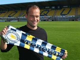 Torquay manager Kevin Nicholson is also the National League club's bus driver. Torquay United FC