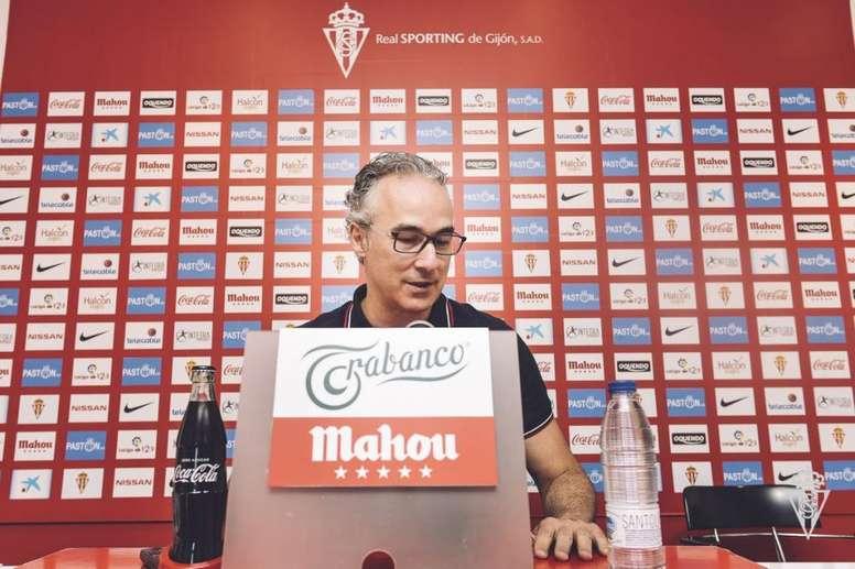 Torrecilla pidió regularidad a los suyos. Sporting