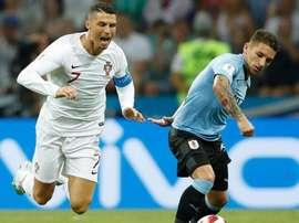 Torreira, preparado para el reto de pasar a semifinales. AFP