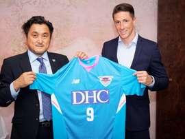 Torres has joined Sagan Tosu. Screenshot