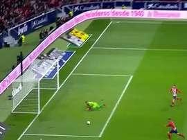 Torres a marqué son premier but de la saison après 14 matches. Capture
