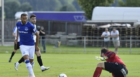 Cenk Tosun is yet to score for Everton this season. Everton