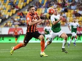 El jugador ha salido cedido las dos últimas temporadas. Shakhtar