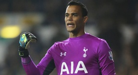 Vorm is not content with being the Tottenham number two. TOTTENHAMHOTSPUR