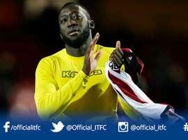 Toumani Diagouraga llega procedente del Leeds. IpswichTownFC