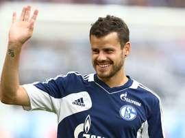 Barnetta insistió en que quiere renovar con el Philadelphia Union. Schalke